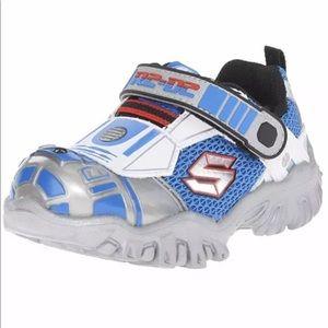 Skechers Boys Star Wars R2-D2 Shoes Sneakers